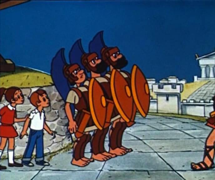 Скачать мультик Коля, Оля и Архимед бесплатно